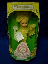 Vtg 80s Kenner Doll & Clothes Lot ROSE PETAL PLACE DAFFODIL NIB 03050 1984