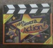 Lights, Camera, Action Family Edition Board Game Lisaleleu New