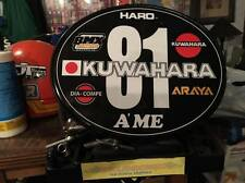 Old School OVAL BMX Number plate by OGK JAPAN -KUWAHARA