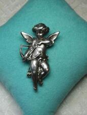 Victorian Angel Cherub Brooch Paris France Belle Epoque Wedding Jewelry Art Deco