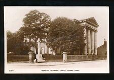 Lincolnshire Lincs MARKET RASEN Wesleyan Methodist Chapel RP PPC 1943