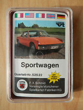 Quartett  Sportwagen Schmid  1970  NEU