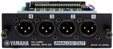 YAMAHA MY4-DA / Analog Output Card XLR 01V 01V96 02R96 AW 4416 2400 + 1J GEWÄHR!
