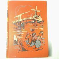 VTG 1949 Childcraft Book Vol 5 Life In Many Lands Orange Hardcover