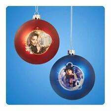 Doctor Who Shatterproof 3 1/4-Inch Ball Ornament Set