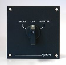 Shore to Inverter Switch-Over Panel - 20 amps - Boat, Marine