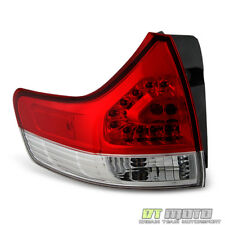 For 2011-2014 Toyota Sienna Outer Replacement Tail Brake Light Left Driver Side