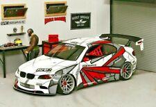 1/10 RC Car BODY Shell BMW F22 M2 200mm *Unpainted*  CLEAR