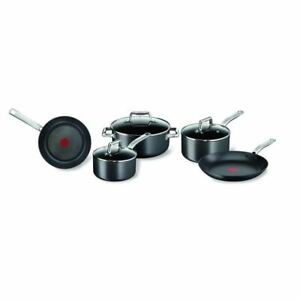 Tefal - Prograde Titanium Non-Stick 5pc Cookware Set