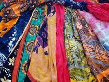 Select Your Own Lot of 6 SARONG VICTORIA CASUAL BEACH DRESS WRAP SILK SARI SKIRT