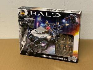 HALO Mega Bloks Construx NMPD Warthog CNH06 Rare Exclusive Set - NEW SEALED