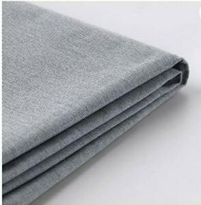 Ikea Karlstad 3 Seat Sofa Slipcover Knisa Light Gray  603.230.16 Cover Only