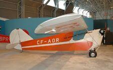 Aeronca C-2 American Ultralight Monoplane Mahogany Wood Model Small New