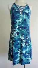 New Elizabella dress, Midnight Floral Green,  size S,