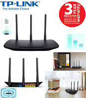 TP-LINK TL-WR940N 450Mbps Wireless N Cable Router / Acces Point 4-Port UK