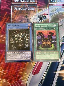 Yu-Gi-Oh Relinquished + Black Illusion Ritual Mixed Sets (Mixed)