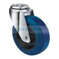 Wheel & Castor - Heavy Duty - H,Blue 100mm Bolt Type