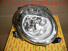 Light projector front New Fiat 500 (2007) - Headlight fiat 500 2007