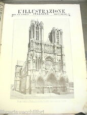 PRIMA GUERRA MONDIALE 1914 Cattedrale di Reims Neutralismo Pola e Trieste Marna