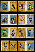 St Vincent 1977-92 MNH Disney, Mickey's Portrait Gallery