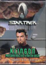 STAR TREK CCG TROUBLE WITH TRIBBLES KLINGON STARTER