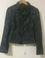 Principles Structured Smart High Or Low Neck Suit Jacket Size 12