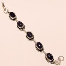 Gemstone Bracelet Fashion Jewelry Amethyst Bracelet Silver Plated
