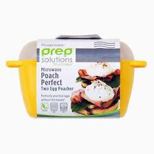 Progressive Double Egg Poacher - Microwave Egg Poacher