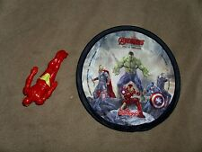 Iron Man Wind Back Toy + Kellogg's Flying Disc