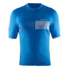 Mens Craft Verve Glow Cycling Jersey Top Blue