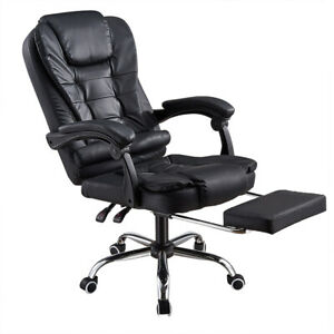 Office Chair Executive Managerial Chair Reclining comfortable with Footrest NEW