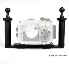 AU Meikon Two Hands Aluminium Tray for Underwater Camera Housing Case Universal