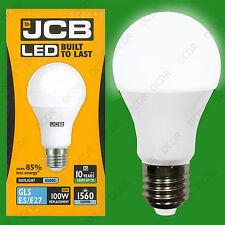 8x 15W (= 100W) GLS es E27 6500K Luz Blanco A70 LED Ultra Brillante 1560Lm