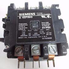 FURNAS / SIEMENS 42DF35AG DEFINITE PURPOSE CONTACTOR / CONTROLLER 190-240VAC