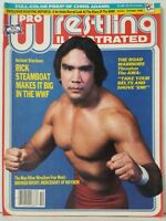Pro Wrestling Illustrated PWI Magazine Issue October 1985 Chris Adams Poster VF