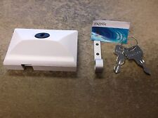 NEW SOUTHCO MOBELLA BOAT MARINE WHITE HEAD CABIN ENTRY DOOR LATCH LOCK