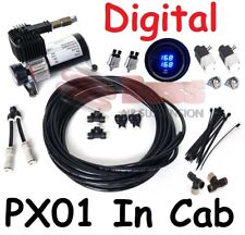 PX01 DIGITAL In Cab Kit Air Bag Suspension - Compressor LED Gauge Elec Switches