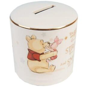 Disney Magical Beginnings Ceramic Money Box Bank  Gift - Winnie the Pooh