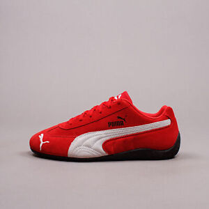 Puma Speedcat LS Red White New Men Driving Shoes Limited Edition Rare 380173-04