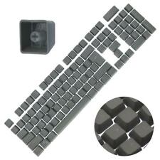 Backlit Double Shot Color Keycaps Cherry MX Mechanical Keyboard Themes Gray 104