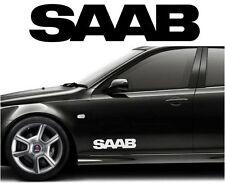 "(#500) 2 X SAAB 20""  BODY CAR STICKER DECAL VINYL GRAPHIC"