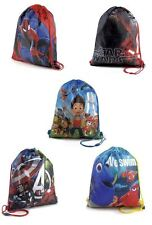 Star Wars Paw Patrol Avengers Spiderman Finding Dory Princess's PE Bag Swim Bag