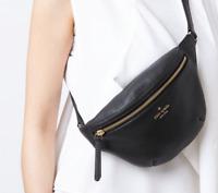 Kate Spade Jackson Street Belt Bag Fanny Pack Black  Purse Sling WKRU5943 NWT