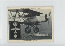 1937 Churchman's Navy At Work Tobacco Base #32 Observer's Mate Card 1x2