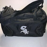 Chicago White Sox Baseball Player Travel Duffle Bag MLB Baseball Equipment Black