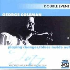 Coleman, George - Playing Changes / Blues Inside Out 2CD NEU