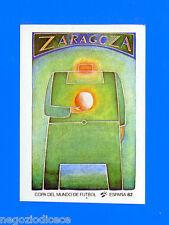 SPAGNA ESPANA '82 -Panini-Figurina-Sticker n. 29 - POSTER ZARAGOZA -Rec