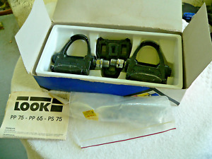 Vintage LOOK PP 75 Clipless Road Pedals