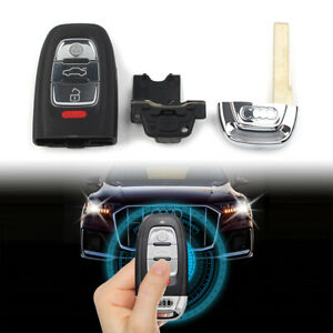 Smart Remote Entry Key Shell Case Fob 4 Buttons Fit Audi A3 A4 A5 A6 Q5 Q8 S4