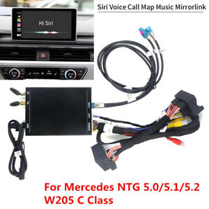 Dash Android Auto & Carplay Kit for 15-18 Mercedes C Class W205 NTG 5.0 5.1 5.2